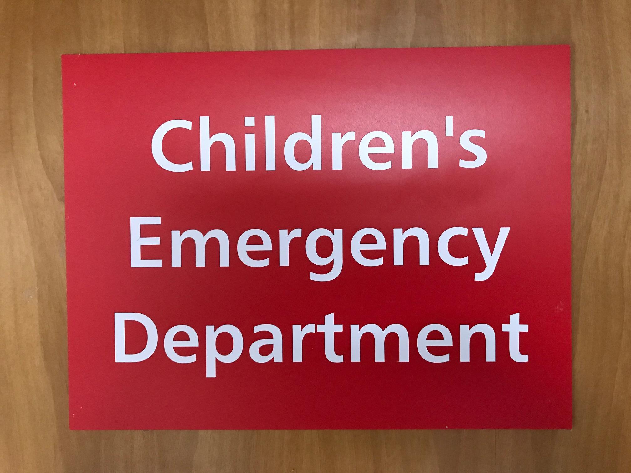 Paediatric ED