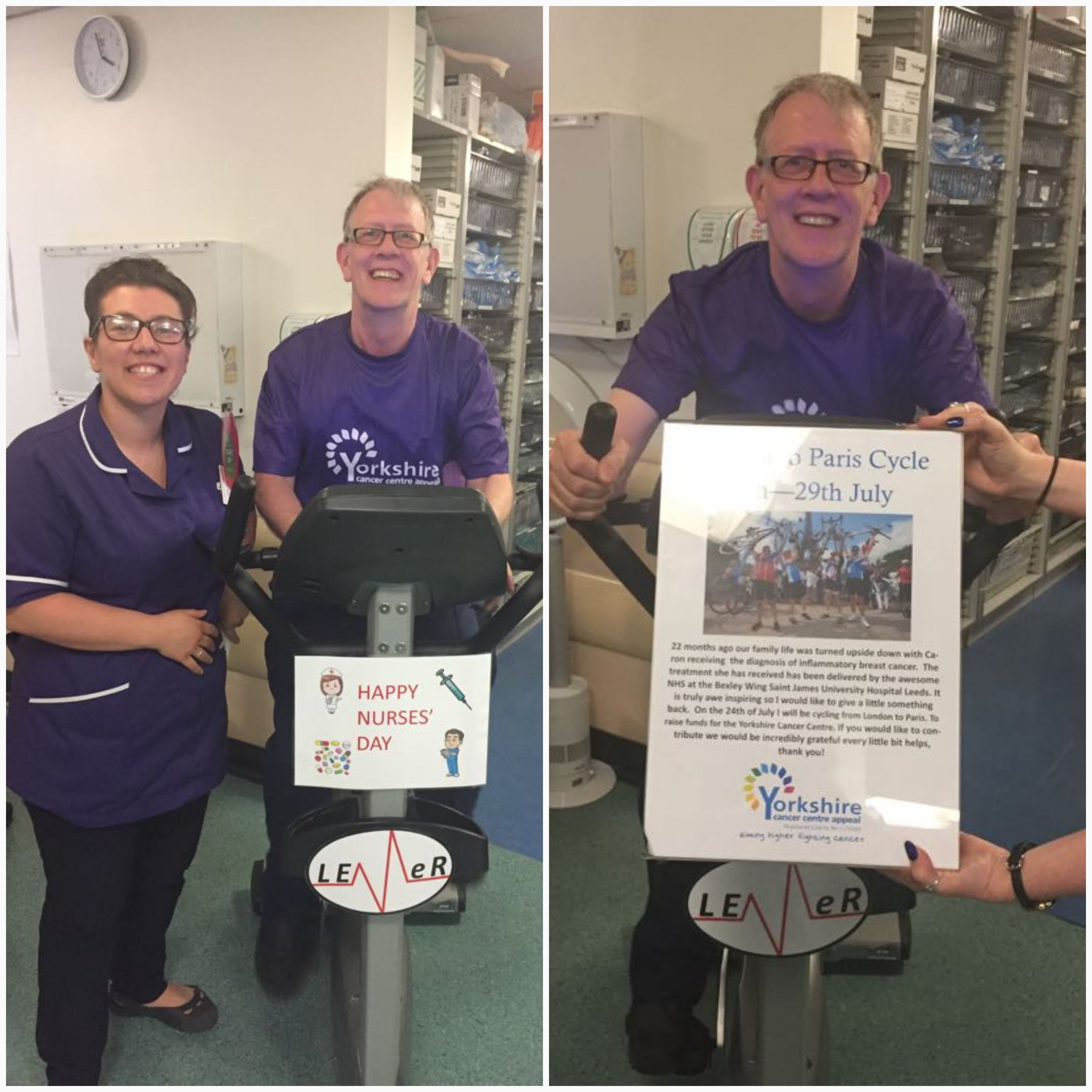 Nurses' day cycle competition 2018 SJH
