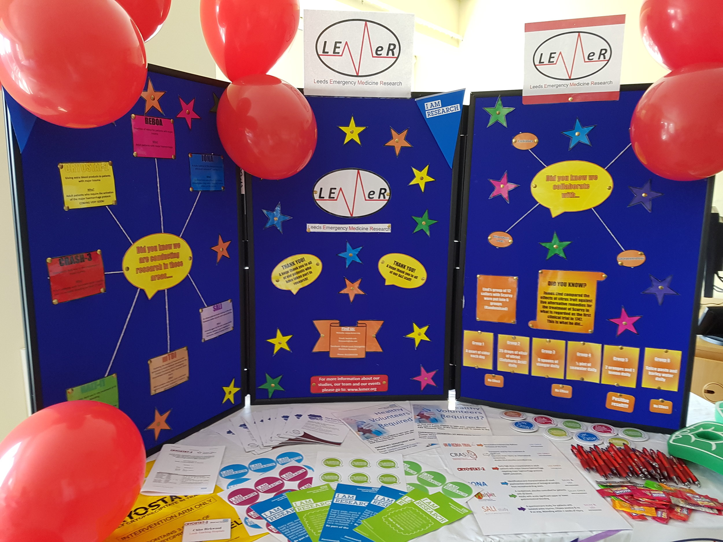 International Clinical Trials Day 2018 Stand
