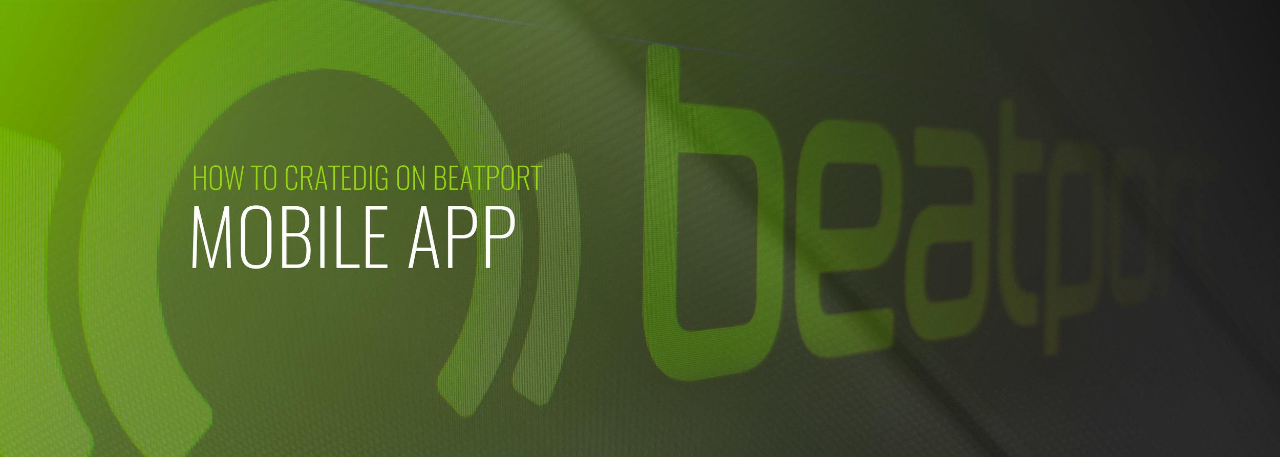 6  Mobile App — Beatport OnBoarding
