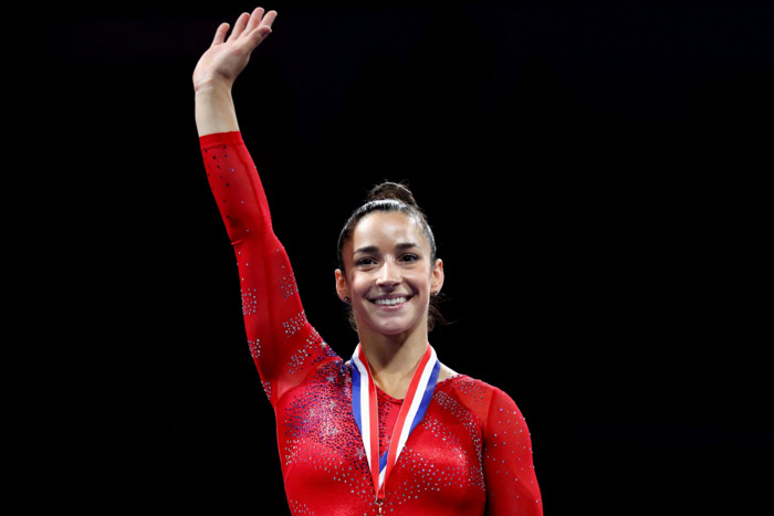 Image Credit- New York Magazine  Gymnast Aly Rasiman, a Playtex affiliate and advocate for expanding the menstruation dialogue.