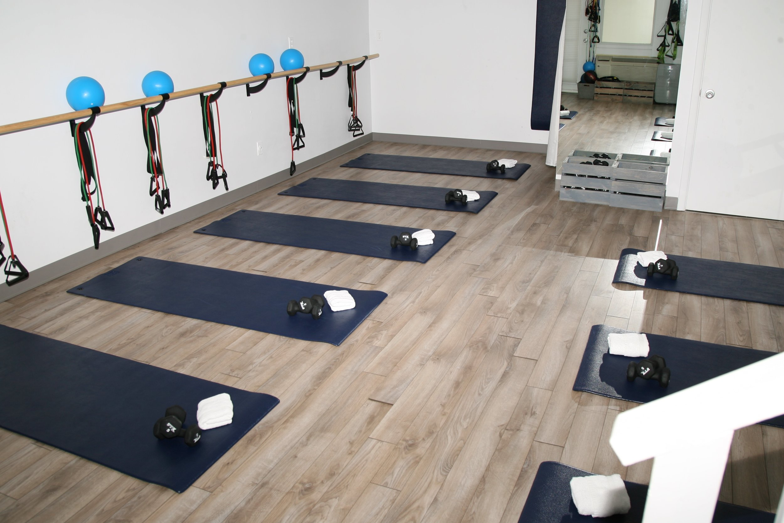 Barre and Mats