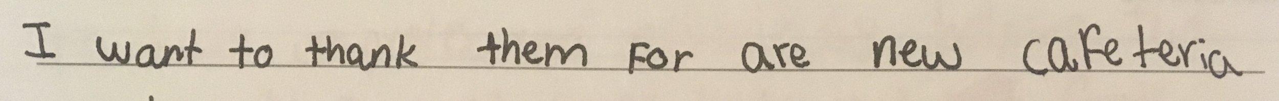 - Benjamin, Grade 8