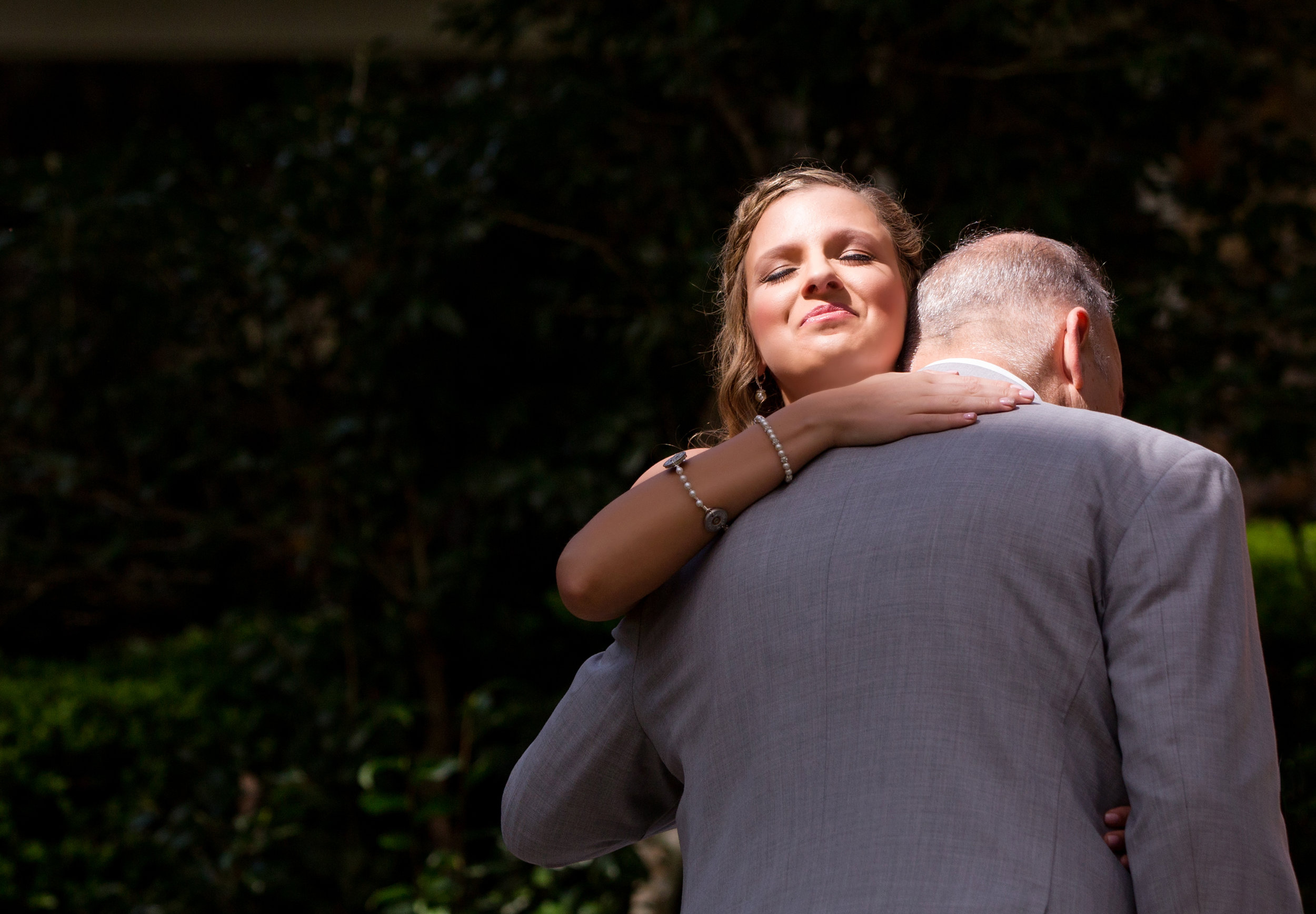 Gainesville Bride and Father Wedding Photography Romantic Photography