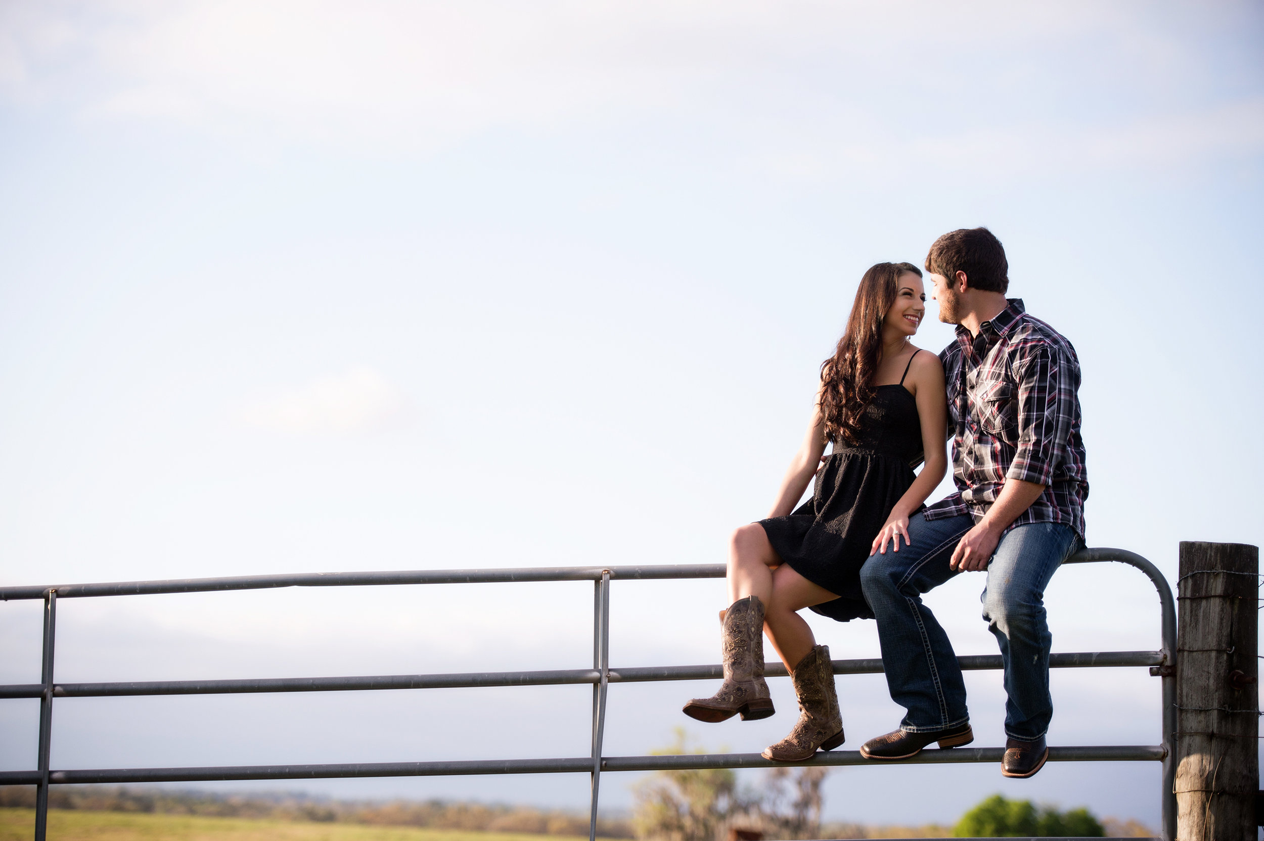 Gainesville Outdoor Engagement Photography Field Session