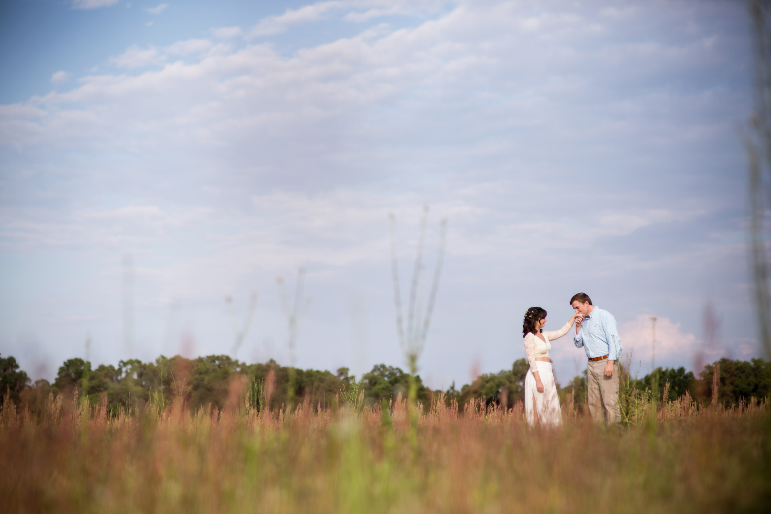 Alachua Wedding Photography Field Farm Engagement Photography