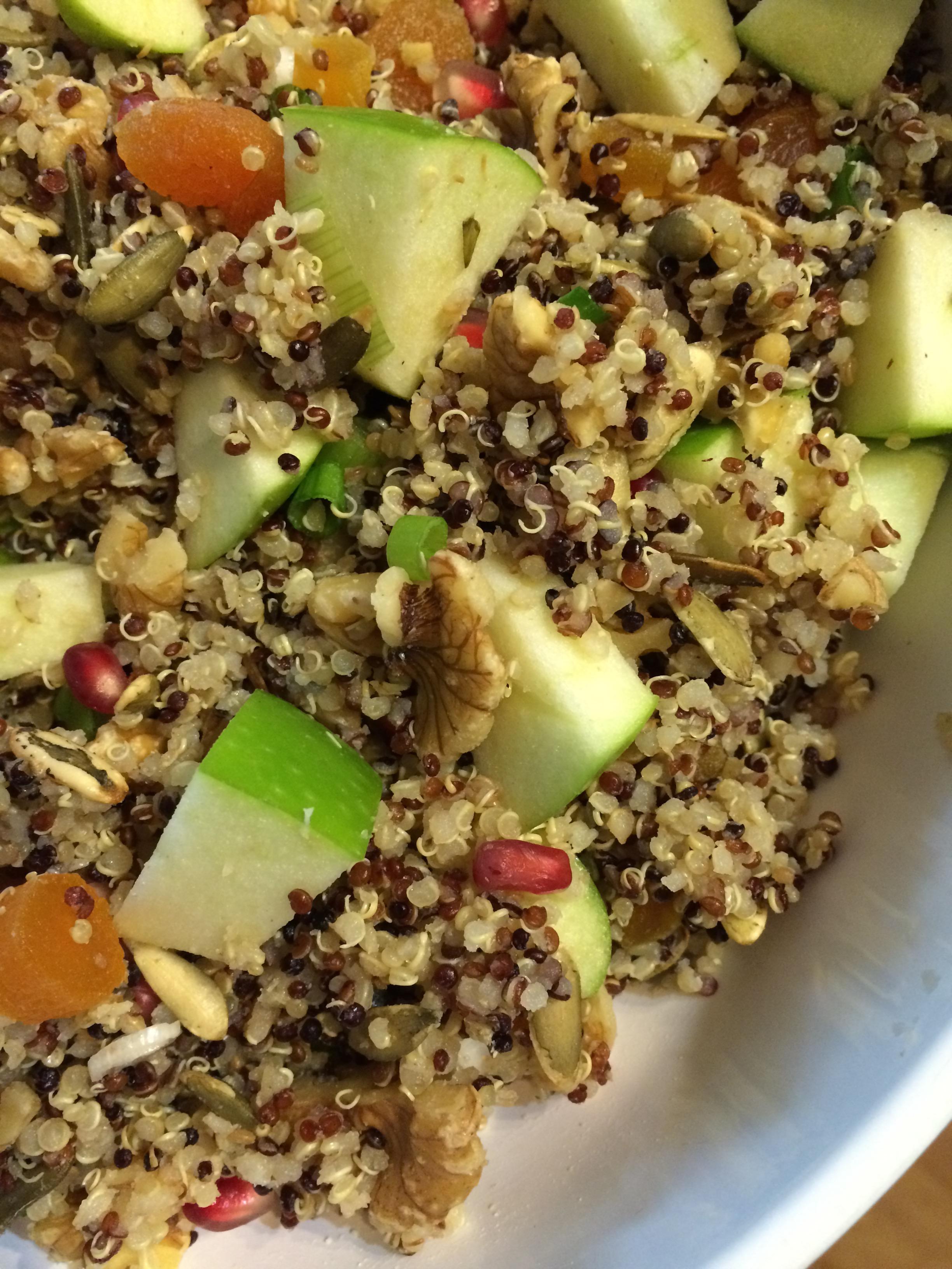 Quinoa Kaleidoscope Salad