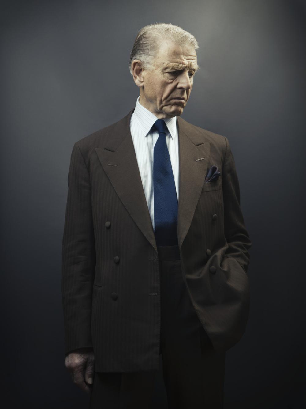 Edward Fox OBE, Savile Club, London