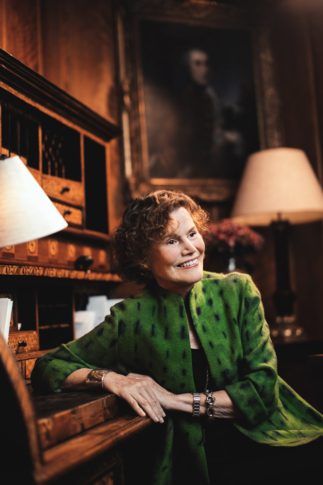 Judy Blume, Covent Garden Hotel, London