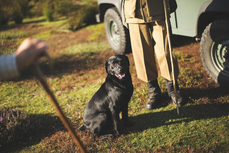 Reportage grouse season photo shoot by Matthew Lloyd