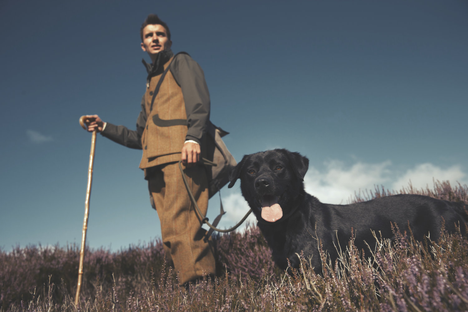 Lifestyle photography - shooting for grouse - Yorkshire