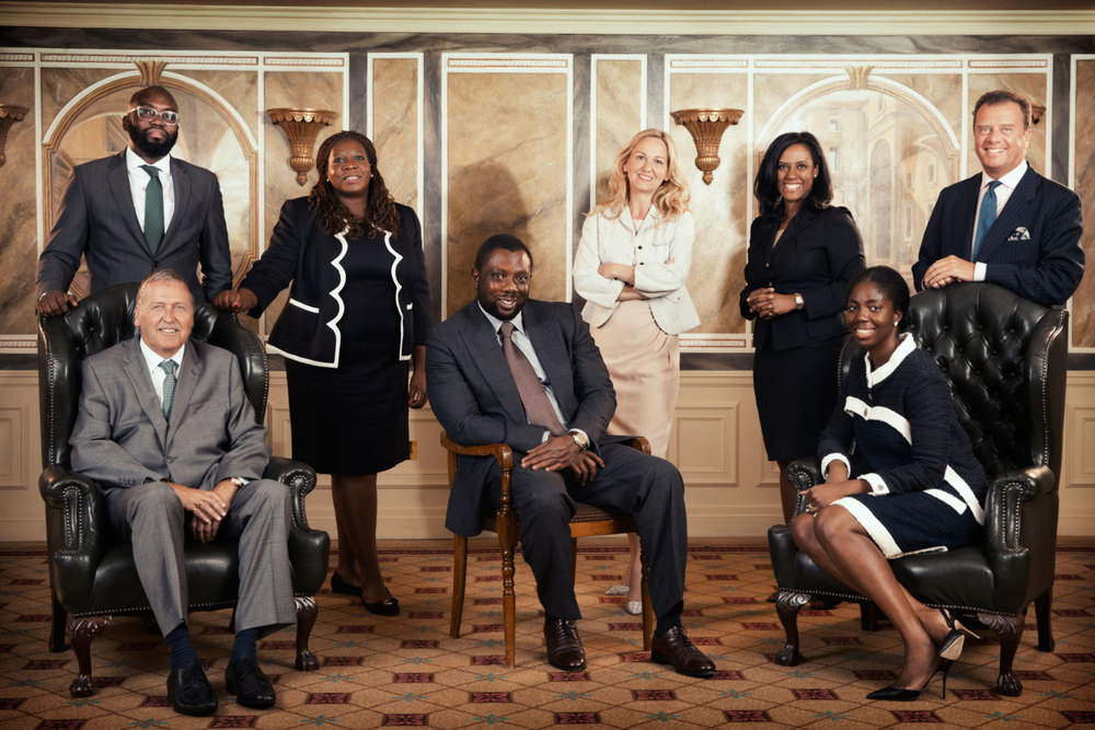 MIA Board Team Shot - Corporate Photography