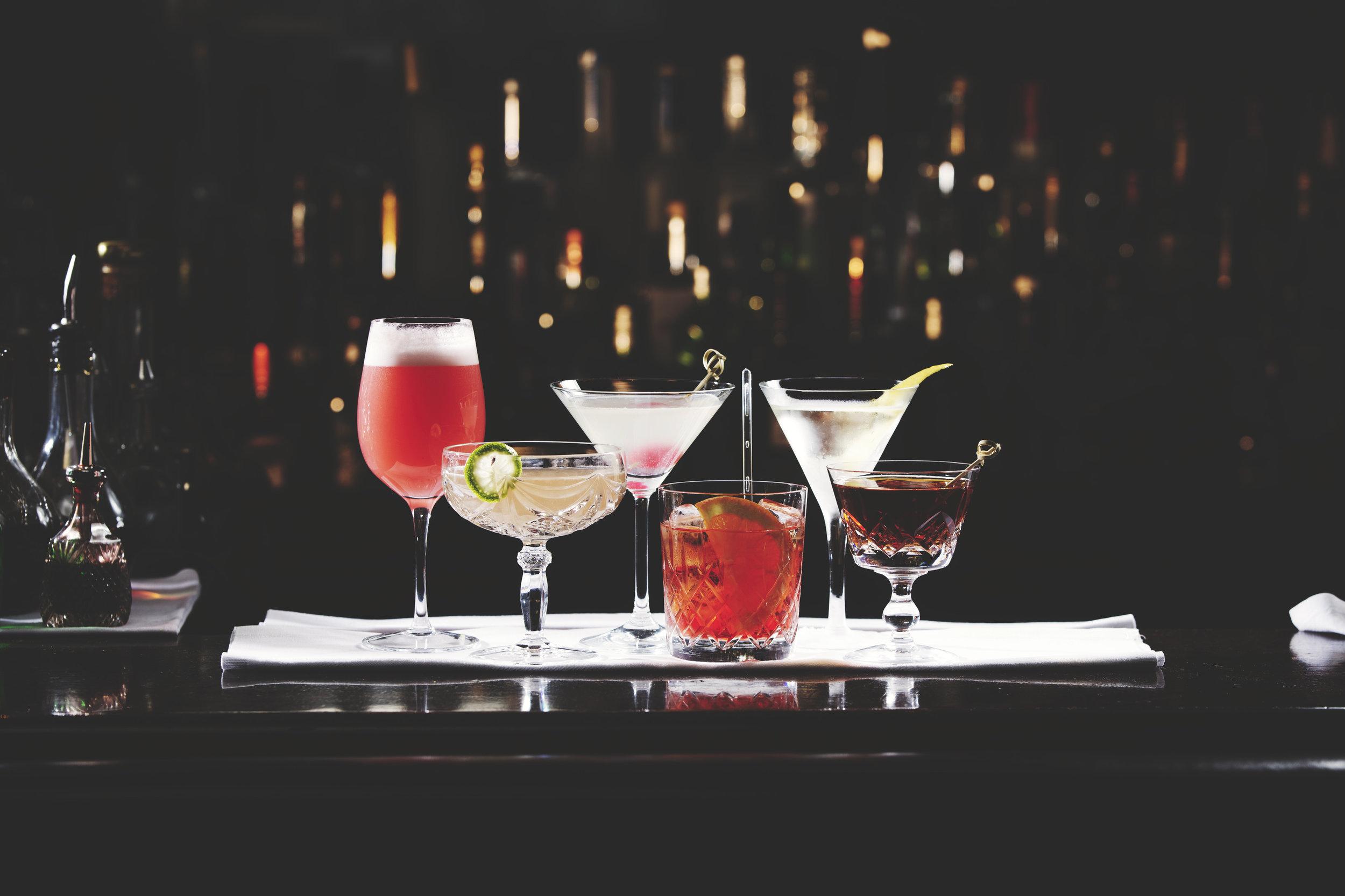 Cocktails photographer London