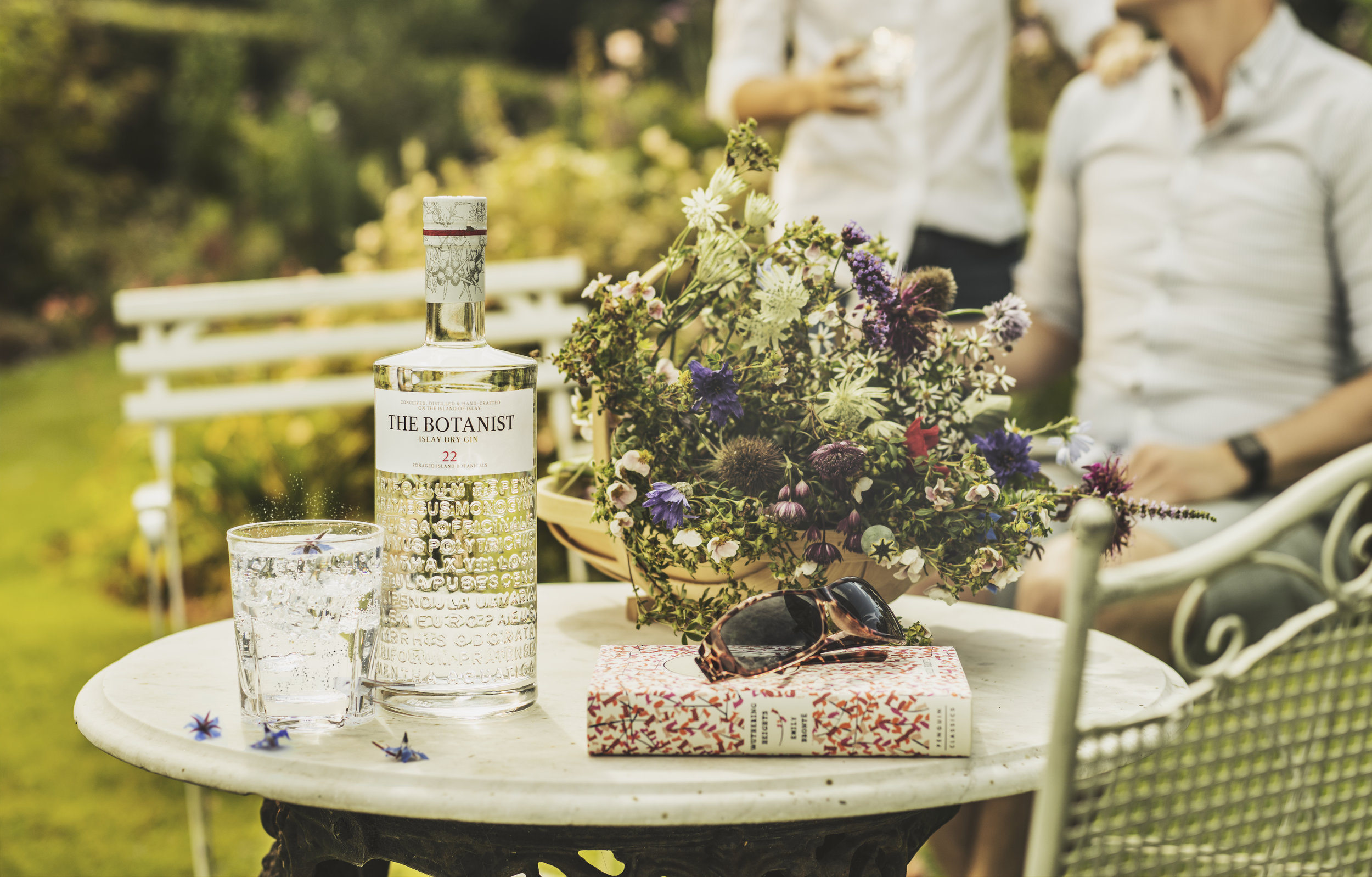 The Botanist Gin advertising shoot