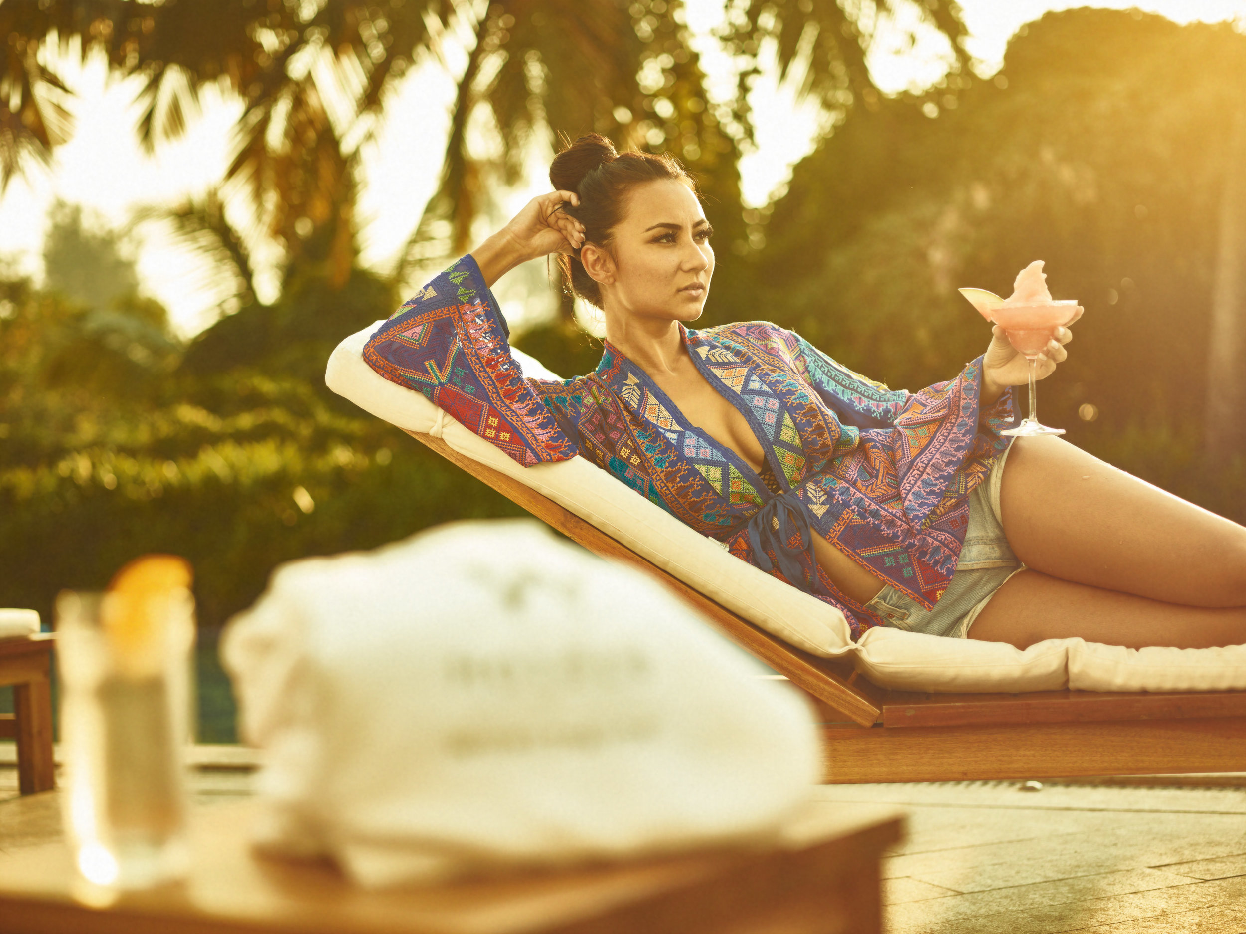 W Hotels Goa lifestyle and poolside shoot commercial photography