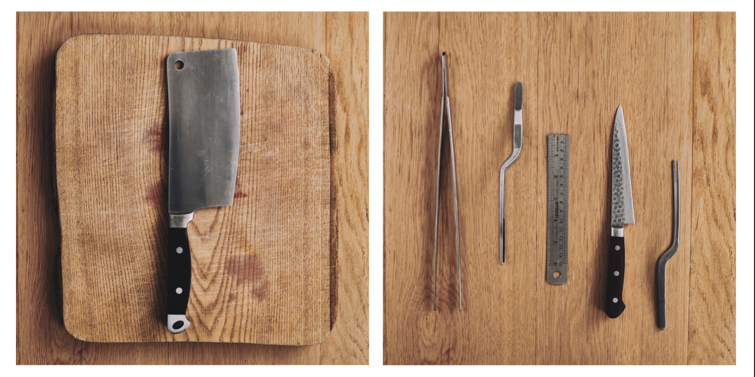 Norse food photography and kitchen equipment