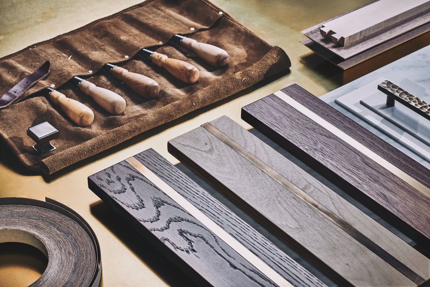 still life product photography of luxury bespoke joinery workshop tools by yorkshire photographer matthew lloyd 3.jpg