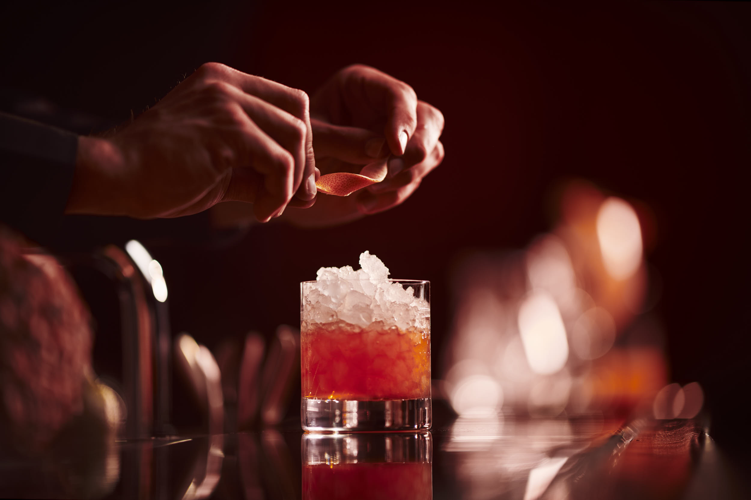 luxury hotel  photographer matthew lloyd shoots peninsula paris for their food and drinks advertising photography