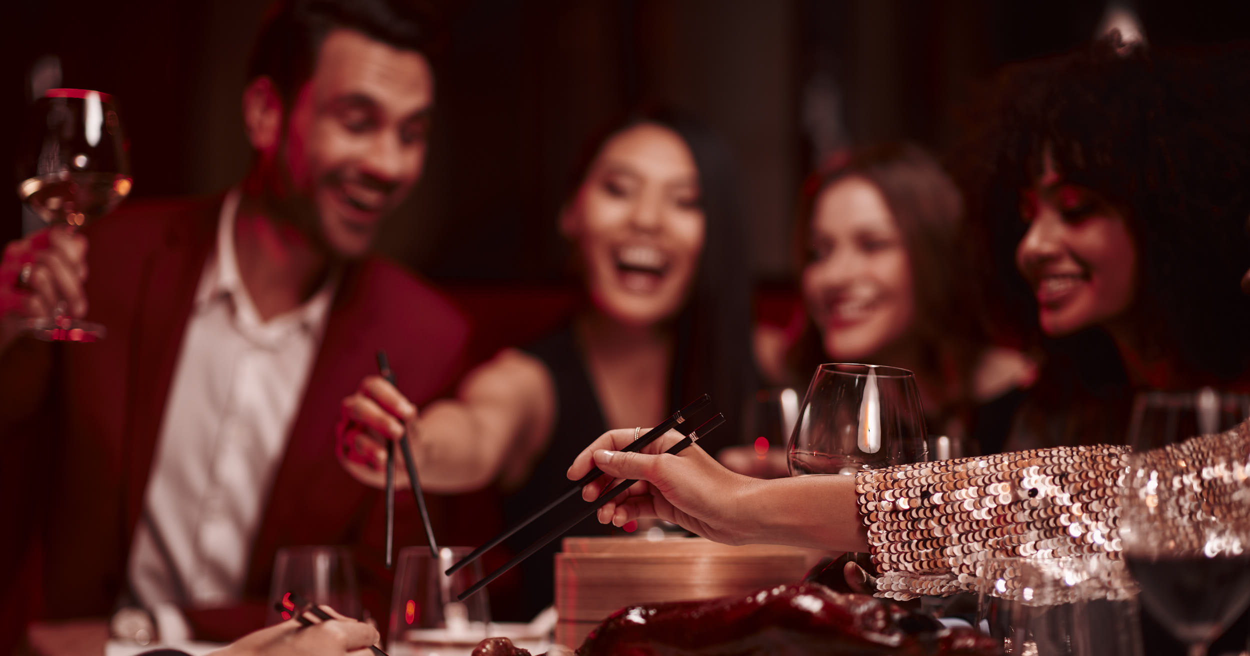 luxury hotel  photographer matthew lloyd shoots lifestyle imagery of models for peninsula paris for their food and drinks advertising photography