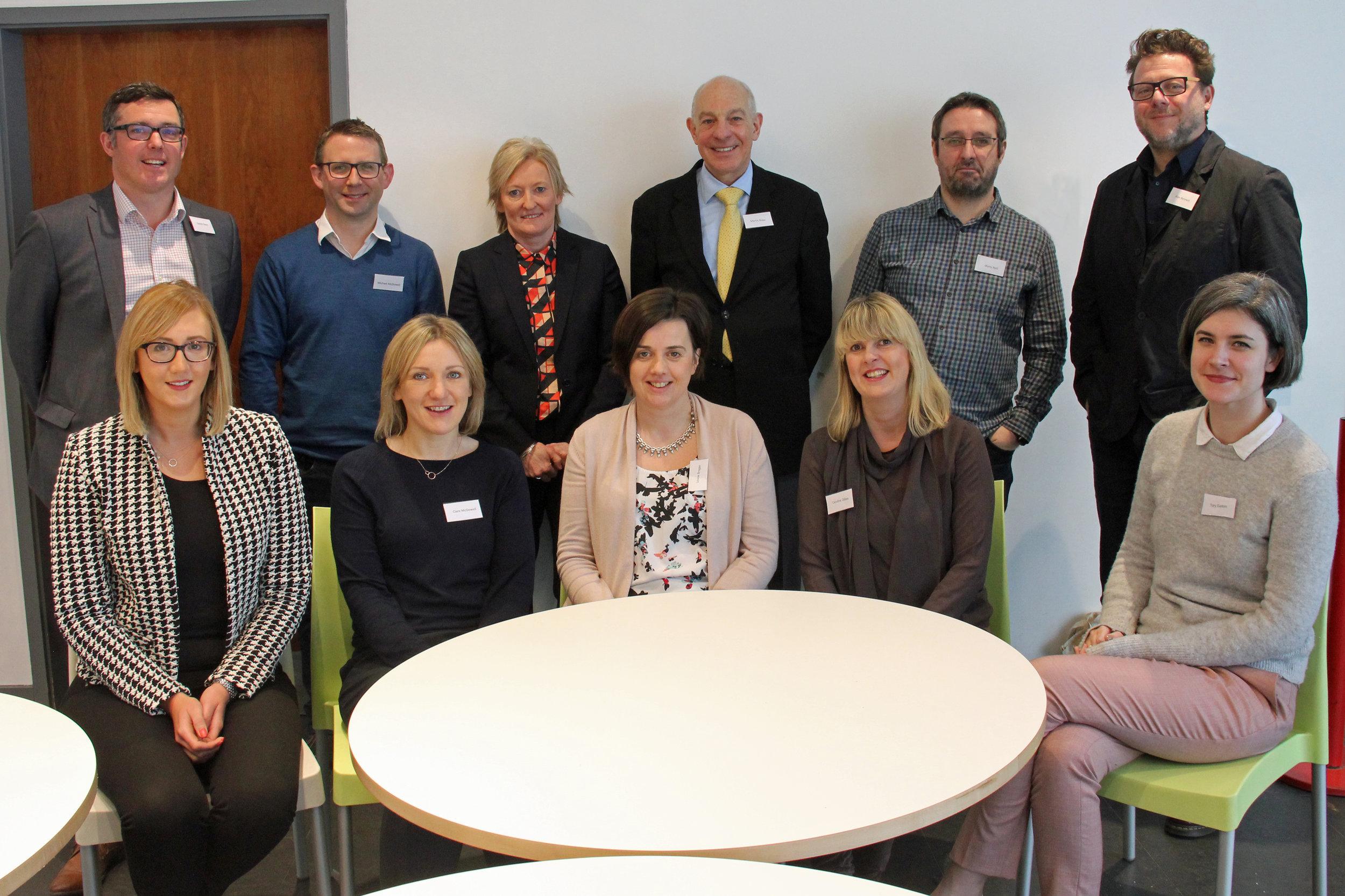 Career Advisors at BRA Breakfast held at the school in 2018