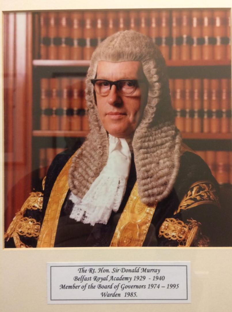 Sir Donald Murray.