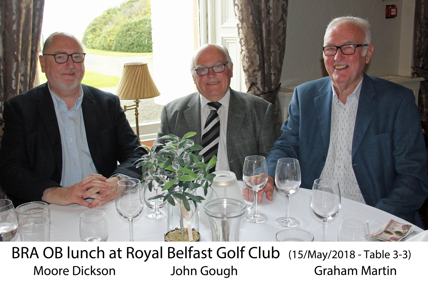 Monthly lunch club