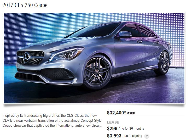 Mercedes Benz Lease >> Current Mercedes Benz Lease Specials And Deals Buy Your Ride