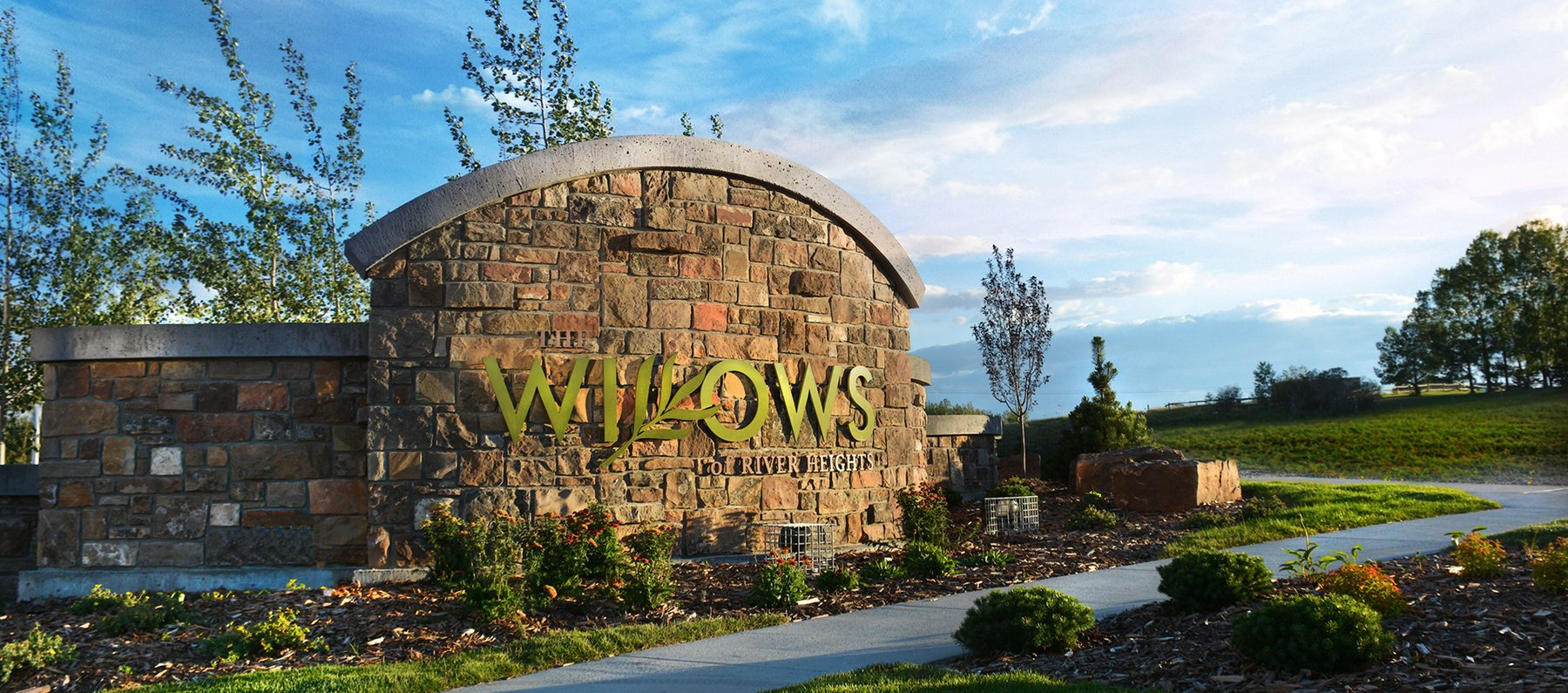 Willows - This trendy area just east of the burgeoning community of Fireside is a great place to start! The Willows is geared to those who want the luxury of a new home , close to all the amenities but also a short drive to the mountains. The Willows are situated just east of Highway 22 on the south side of Cochrane where you can enjoy walks in the river valley or amid the aspen trees and watch the sun set over the rolling plains and foothills. Calgary is a 20 minute drive away for those doses of big city life before you return to your community, where your house is your palace and your neighbours are your friends.