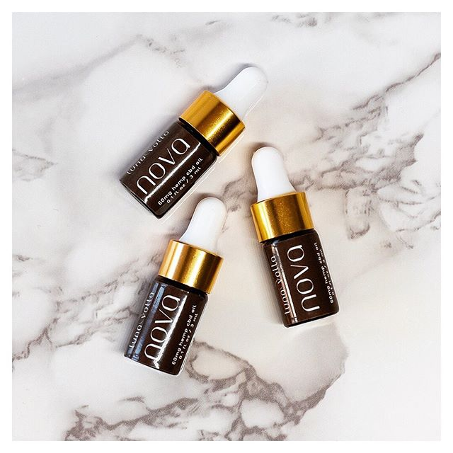 Cure the back-to-work blues. Trial sizes are here! 🌱 Give NOVA, our premium wellness hemp oil, a taste, grab one for on-the-go, or gift a mini to a loved one. Each mini contains -60mg hemp CBD oil (organic, full spectrum, third party tested) -An included dosing guide (1 full mini dropper ~ 10mg CBD) - Comes hand packaged in recycled kraft paper + wrapped in hemp twine.  Only $15 + FREE SHIPPING. Shop now 👉🏼👉🏽👉🏾 lunavolta.com