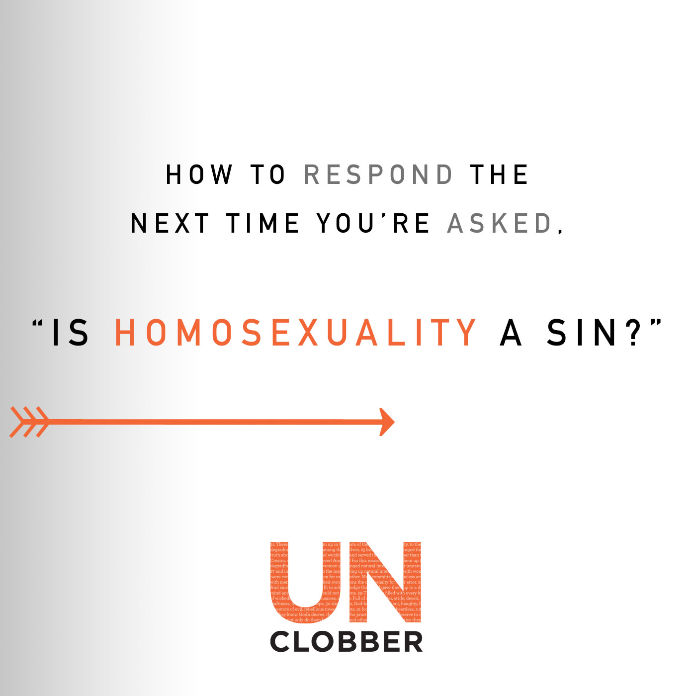 is homosexuality a sin unclobber