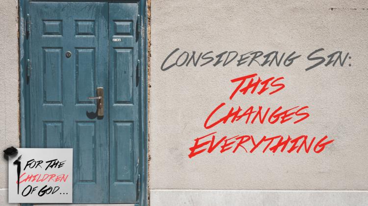Considering Sin: Part II