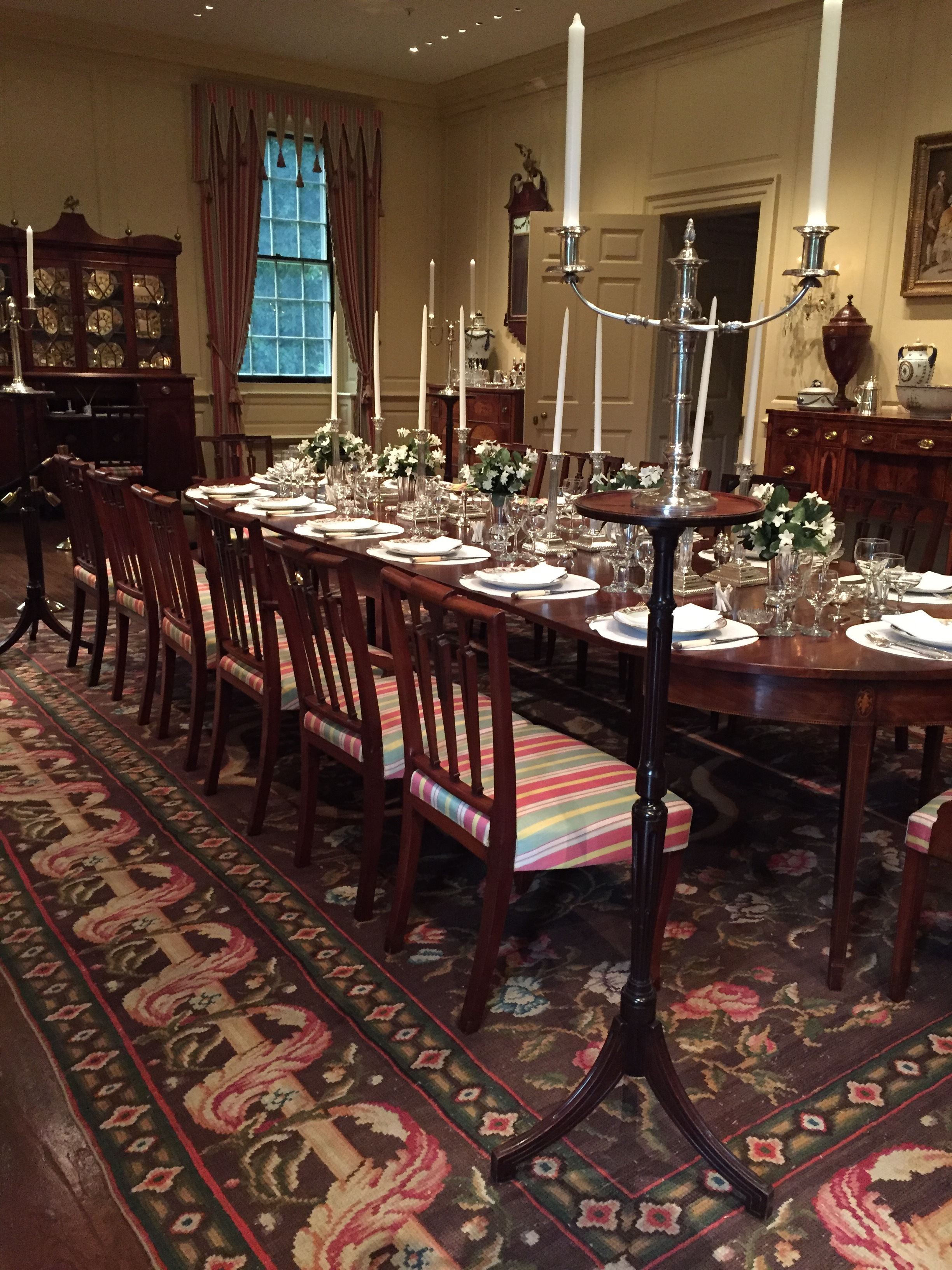 The Main dining room at Winterthur