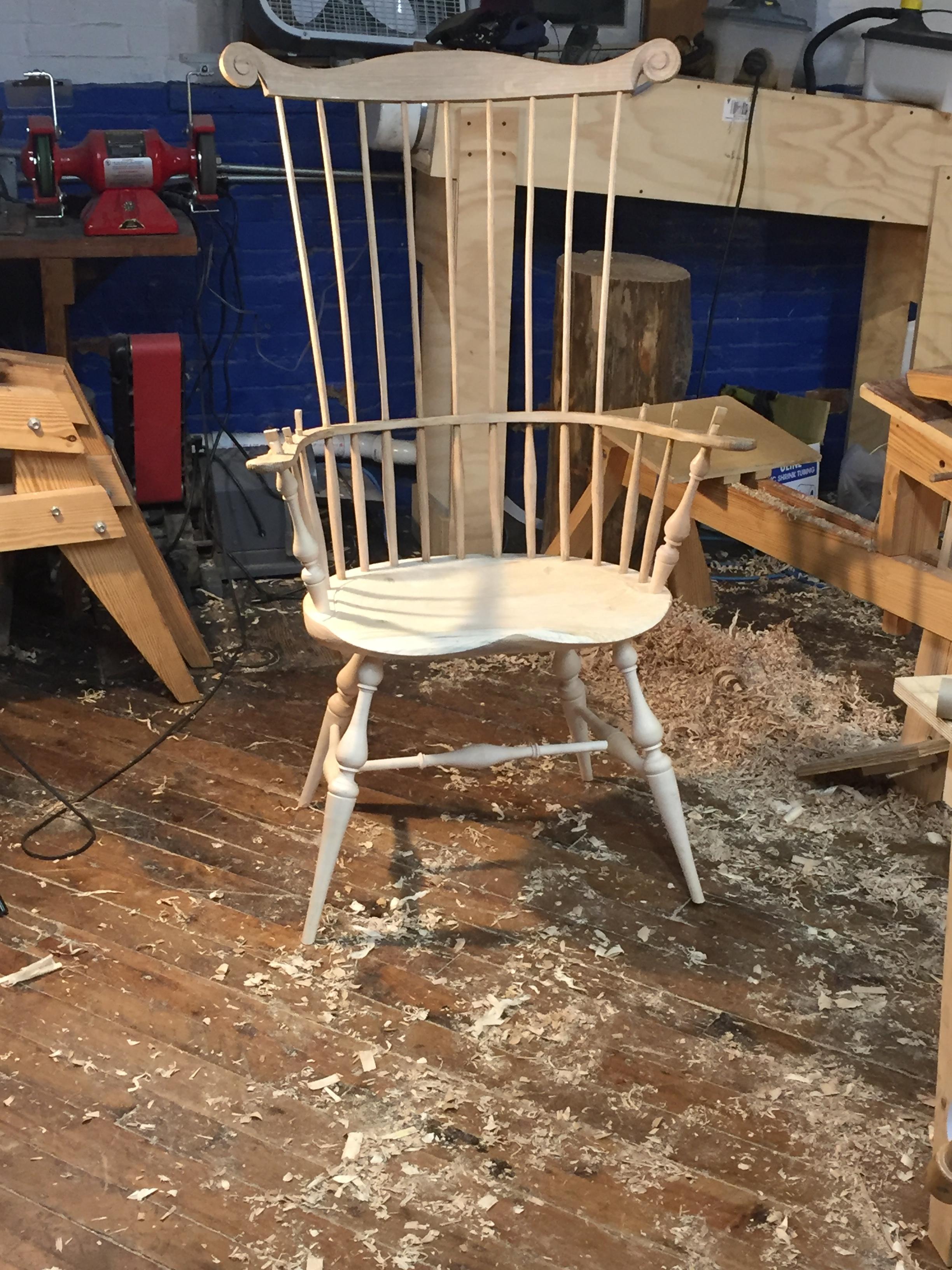 Craig's chair, looking sharp!