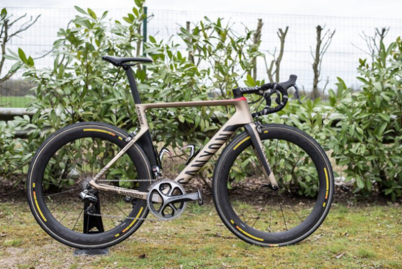 Both Team Katusha and Movistar rode the Aeroad by Canyon at Paris Roubaix in 2015. Arguable the toughest race in the Pro-peloton calendar.
