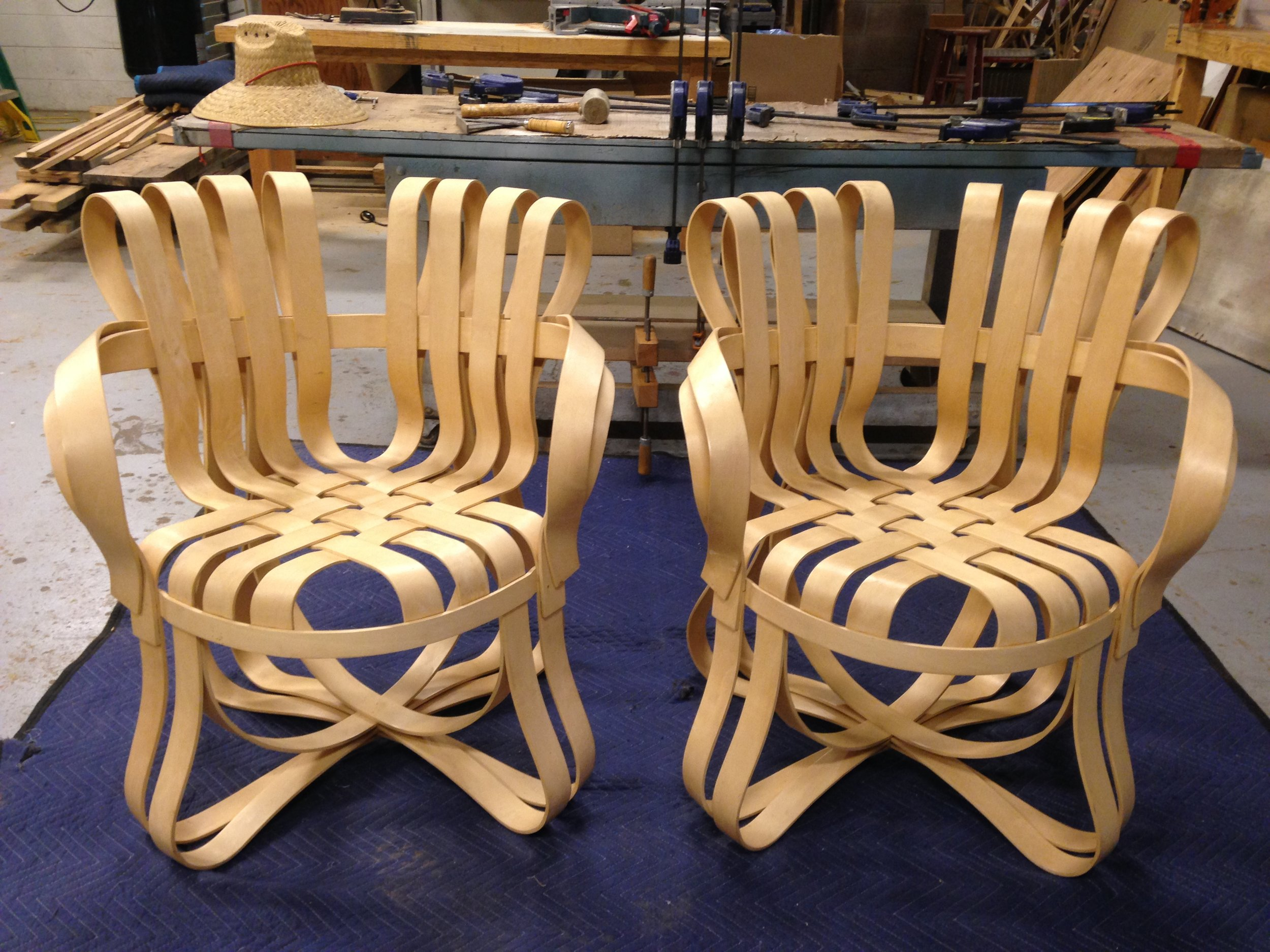 AFTER - Frank Gehry KNOLL chairs