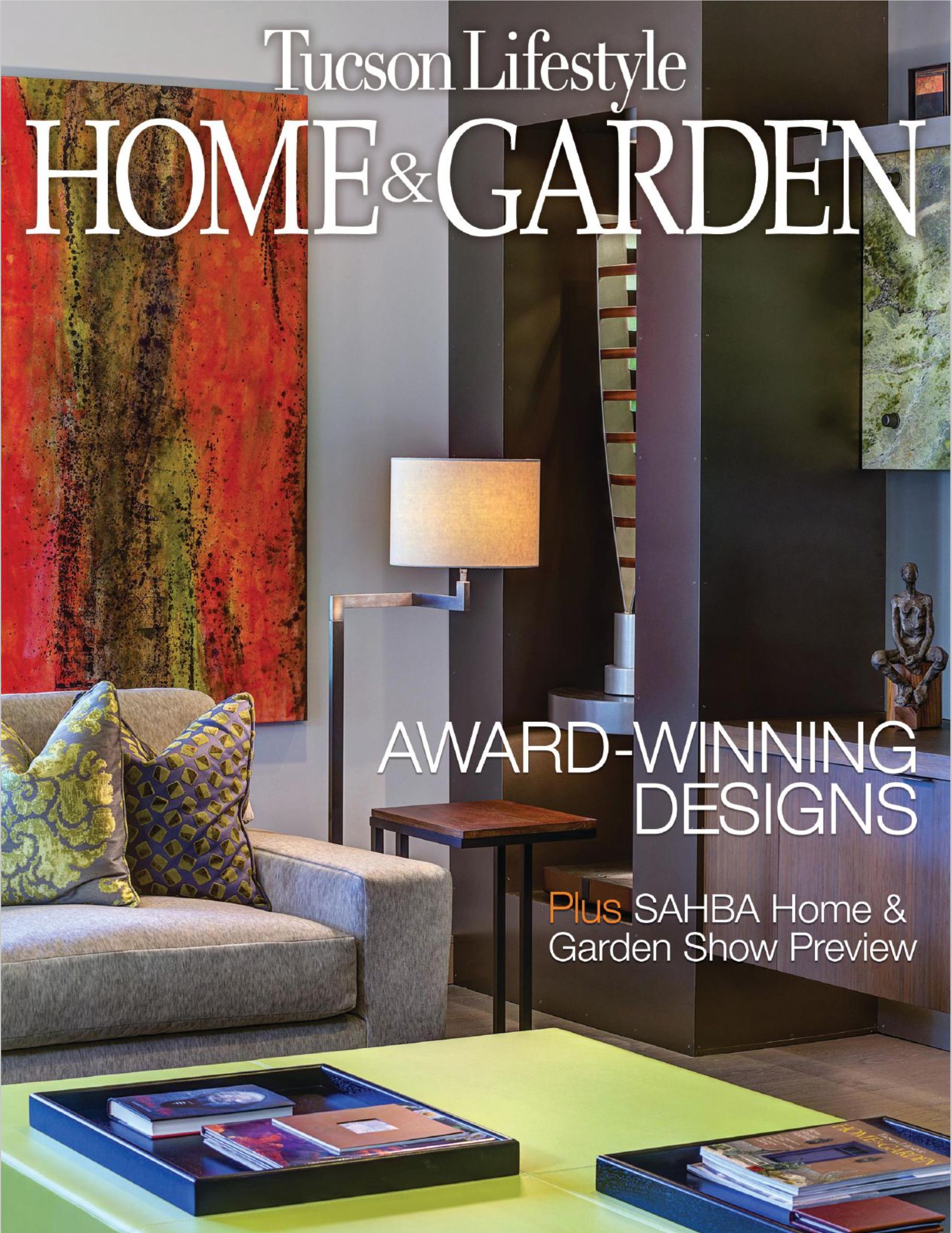 TUCSON LIFESTYLE HOME & GARDEN MAGAZINE Oct. 2015