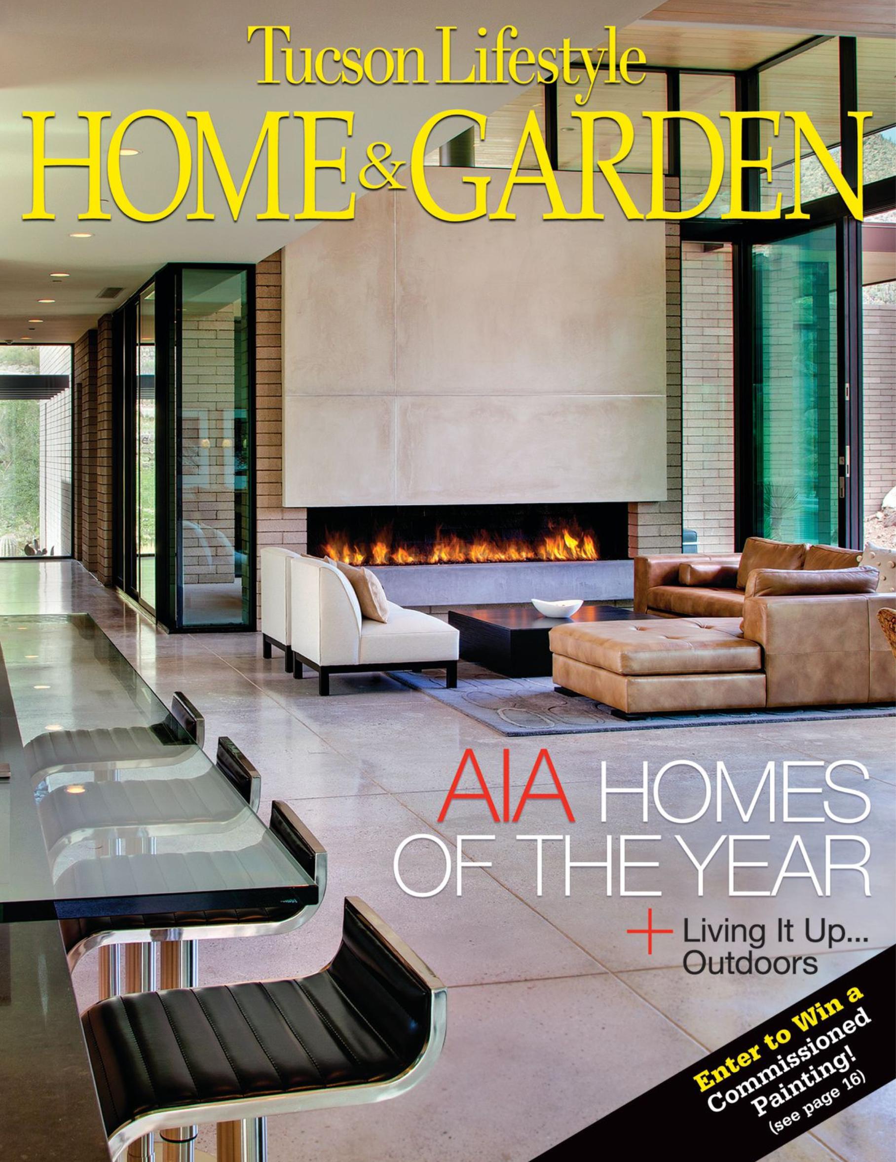 TUCSON LIFESTYLE HOME & GARDEN MAGAZINE Sept. 2011