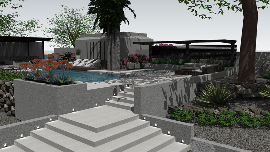 outdoor space yard exterior pool design Top 20 Interior Designers in Tucson