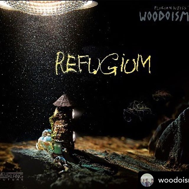 "new #artwork of the #upcoming #album ""refugium"" of @woodoism album #release is going to be on the 27th of september. artwork by moritz praxmarer.  #newrelease #cd #jazz #woodoism #trombone #saxophone #bass #drums #chamberjazz #swissjazz #artistmanagement"