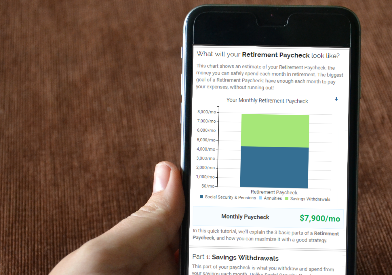 Building a Retirement Paycheck