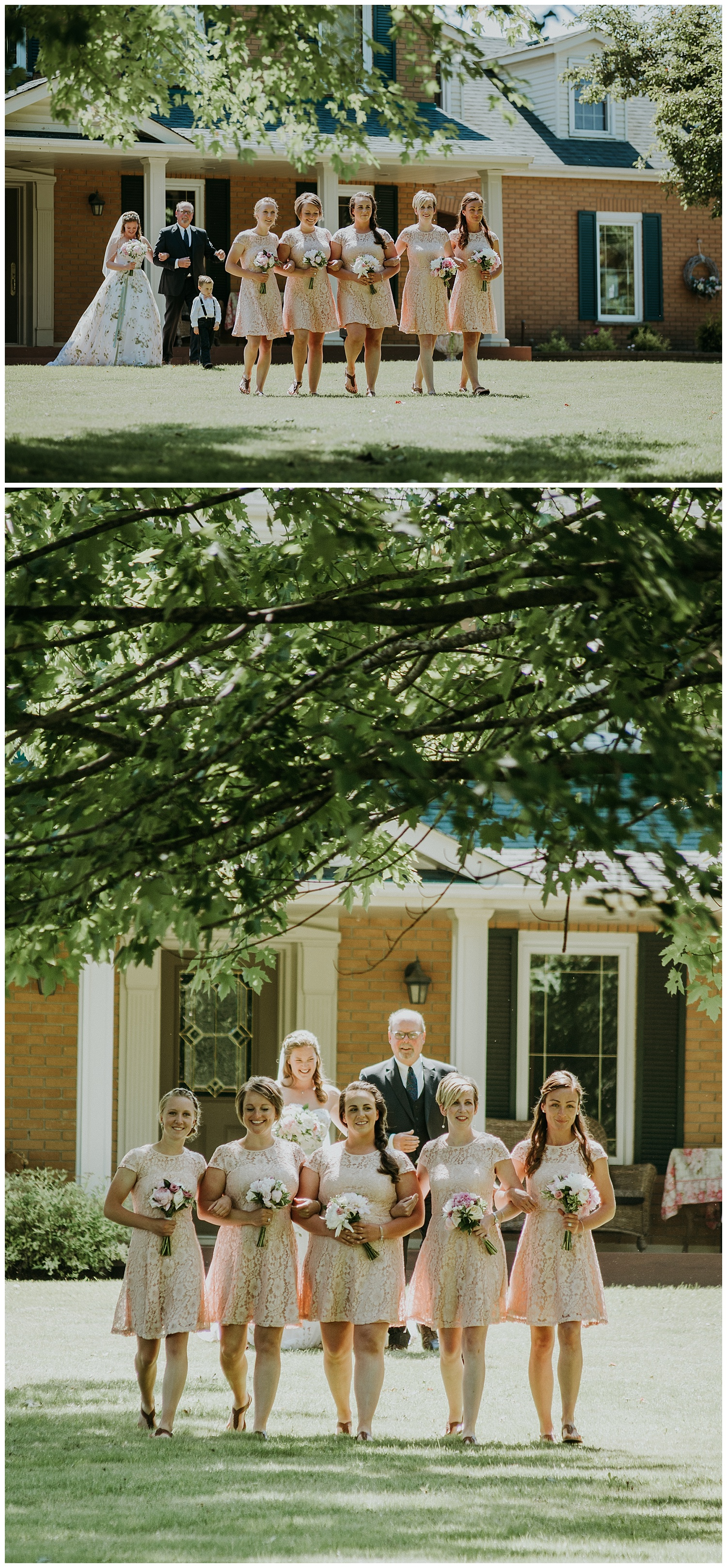 Front Yard Ceremony in Trenton, Ontario   Holly McMurter Photographs