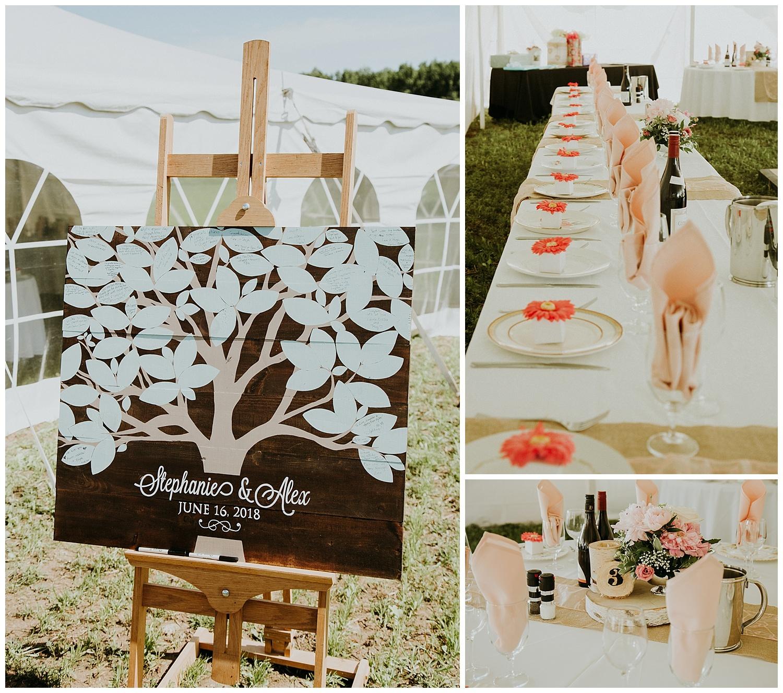 Relaxed Frontyard Wedding in Trenton, Ontario   Holly McMurter Photographs