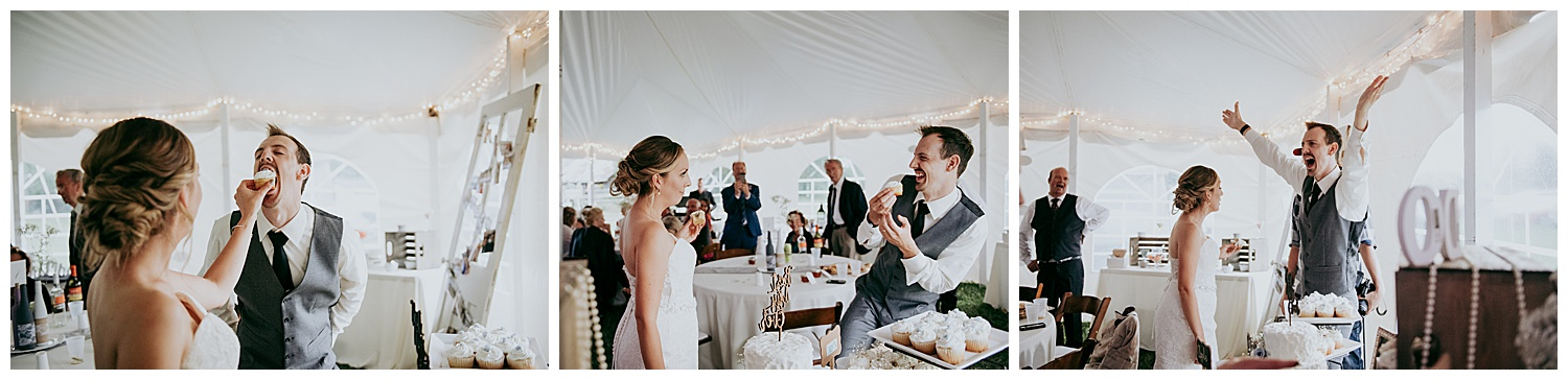 Laid-Back Front Porch Wedding   Holly McMurter Photographs   Prince Edward County