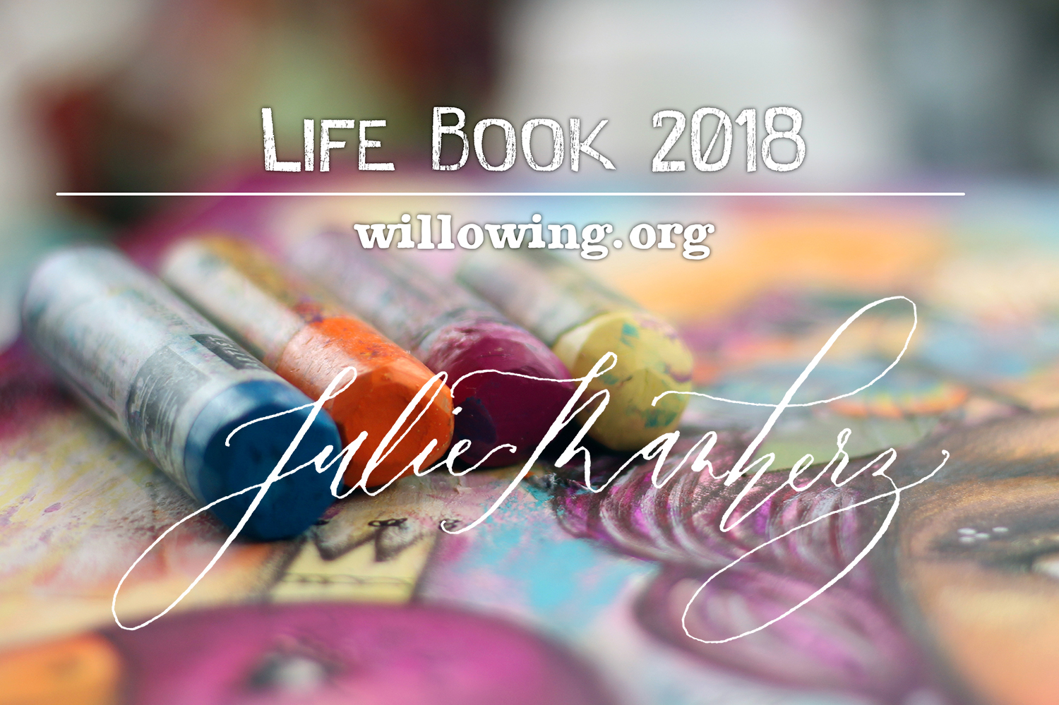 and the winner is... Julie Manherz!!! Life Book 2018 #lifebook2018