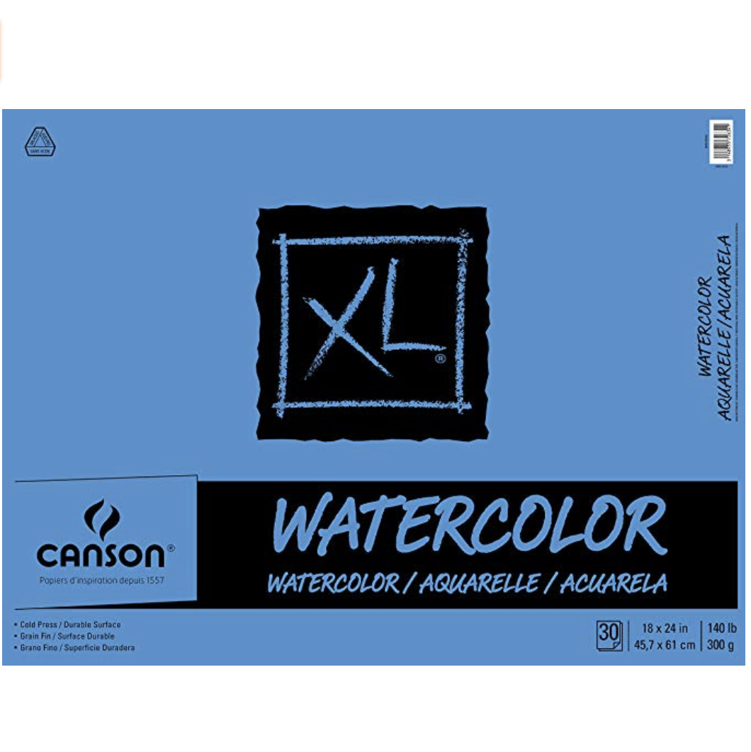 Budget-Friendly Canson XL Series Watercolor Paper Pad