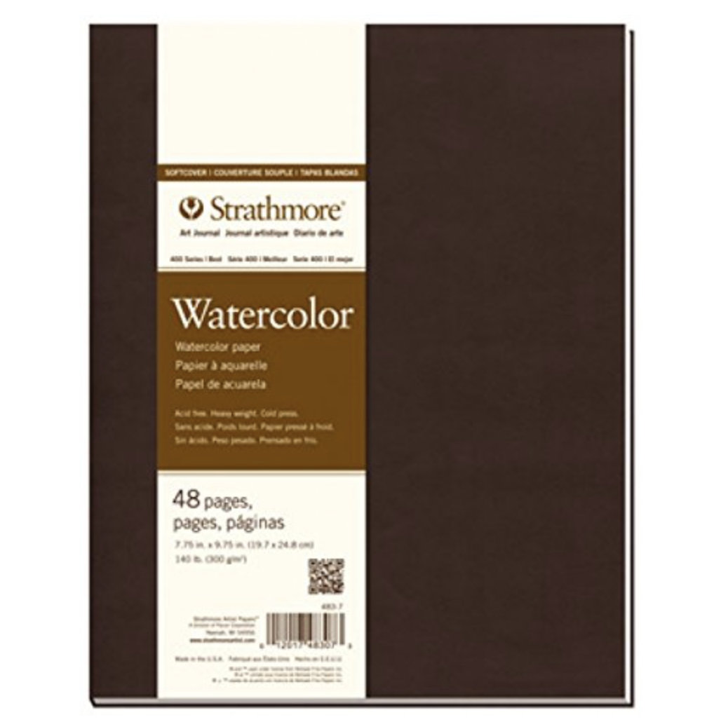 Strathmore 483-7 400 Series Softcover Watercolor Art Journal