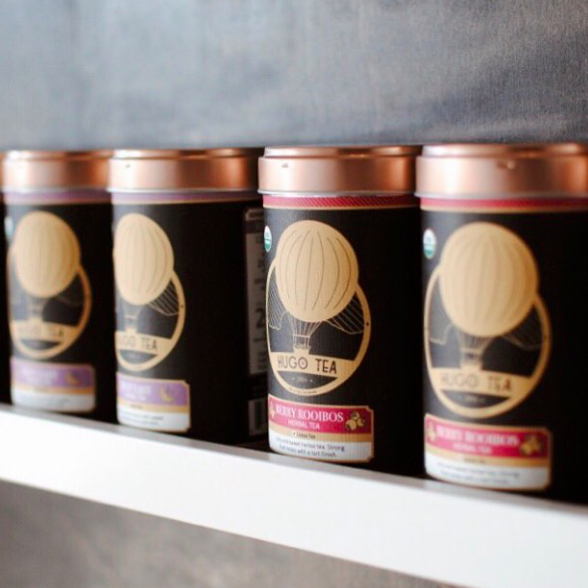Hugo Loose Leaf Tea Cans