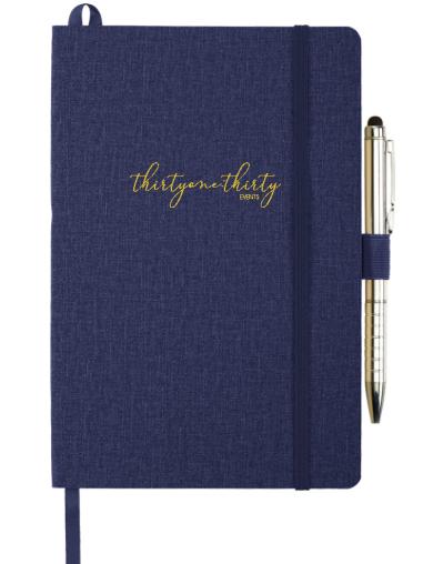 Custom Soft Bound Notebook