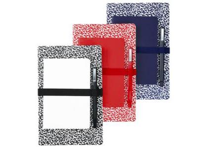 Saddle Stitched Notebook Set