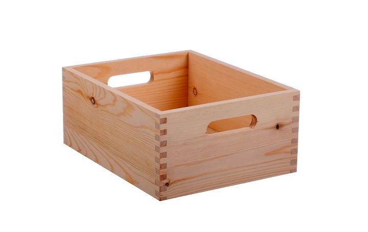 Wooden Keepsake Crate